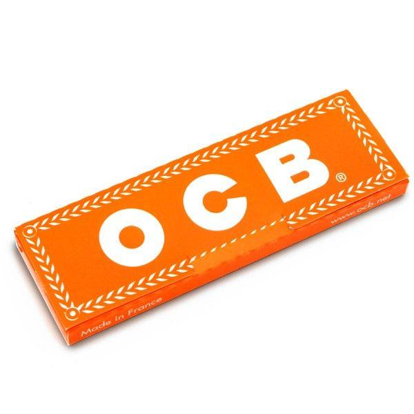 CARTINE OCB ORANGE ARANCIONI CORTE BOX 50 LIBRETTI