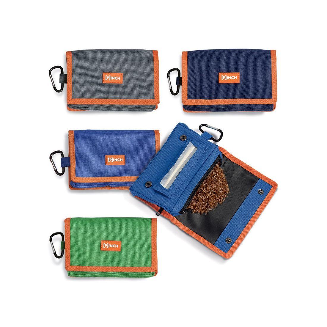 Portatabacco pinch in tessuto canvas porta tabacco cartine - Porta tabacco pipa ...