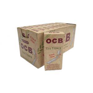 OCB EXTRASLIM 5,7MM ULTRA SLIM BIODEGRADABILI 100% ECO - BOX 20 SCATOLE DA 120 FILTRI