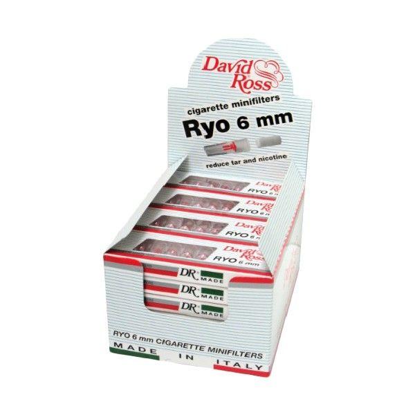 David Ross Microbocchini 8mm - Confezione BOX 36 Astucci da 10