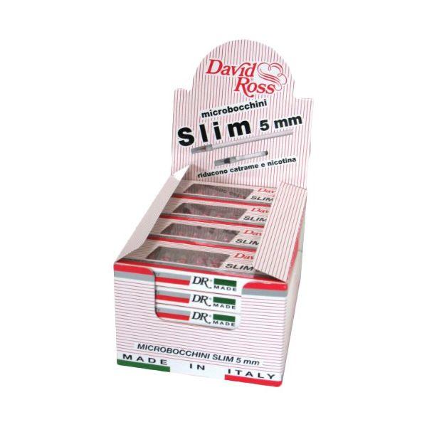 DAVID ROSS MICROBOCCHINI SLIM 5mm - BOX 24 ASTUCCI DA 10