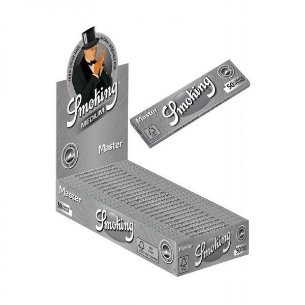 CARTINE SMOKING MASTER 77 mm CONFEZIONE DA 50 LIBRETTI