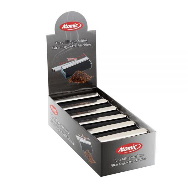 Atomic Rullo Rollatore Metallo Macchinetta Per Cartine Corte