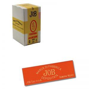 Job Nervi Cartine Corte Foderina Arancione - Box 100 Libretti da 40 cartine