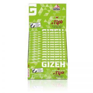 Cartine Gizeh Super Fine KS Slim + Tips - Box da 26 Libretti