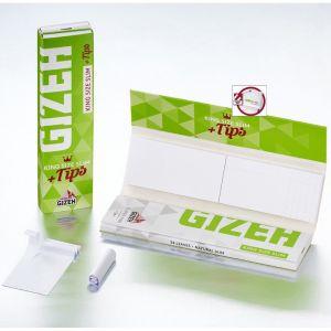 Cartine Gizeh Super Fine KS Slim + Tips - 1 Libretto