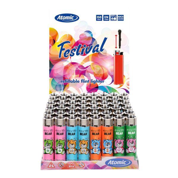 Atomic Festival Fantasia Addicted Bear - Box 48 Accendini