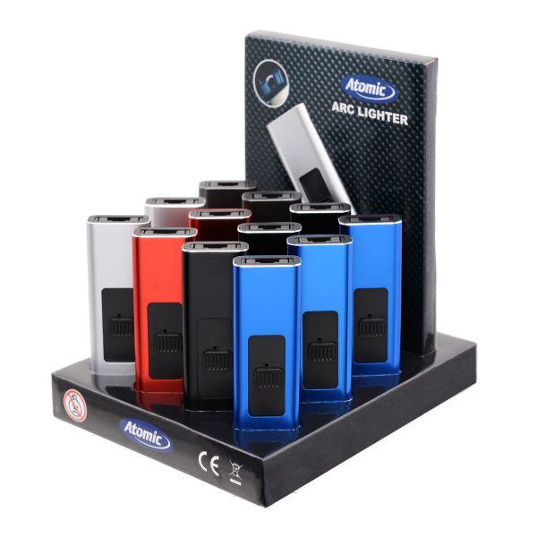Atomic Arc Alu Usb Ricaricabile - Box 13 Accendini