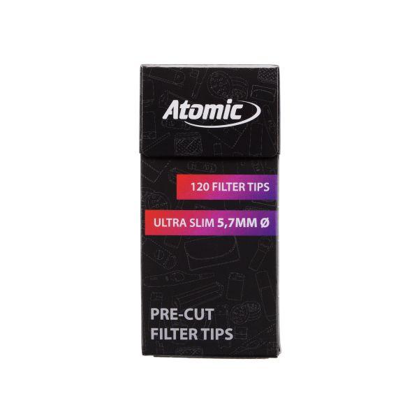 Atomic Filtri Extra Slim 5.7 mm - Box 20 Scatoline