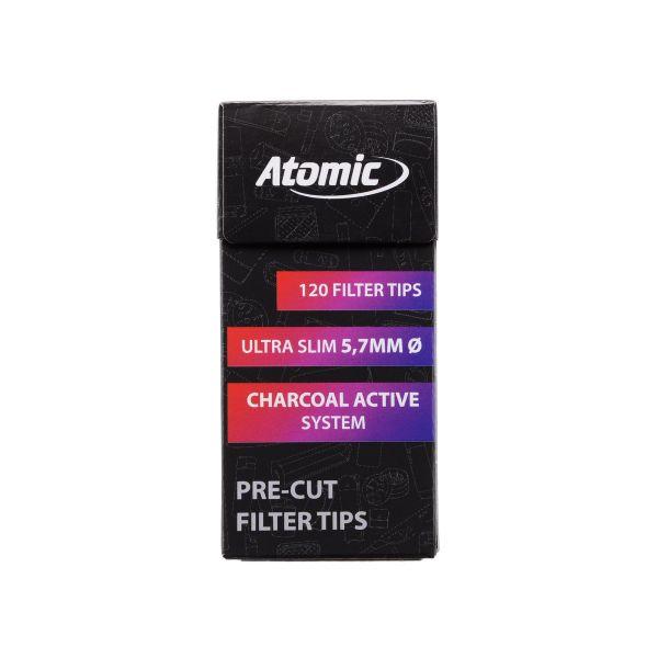 Atomic Filtri ai Carboni Attivi Extra Slim 5.7 mm - Box 20 Scatoline