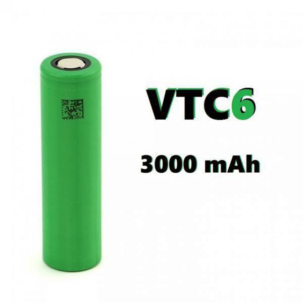 Sony Konion US18650 VTC6 ampere: 30A mah: 3000 mah