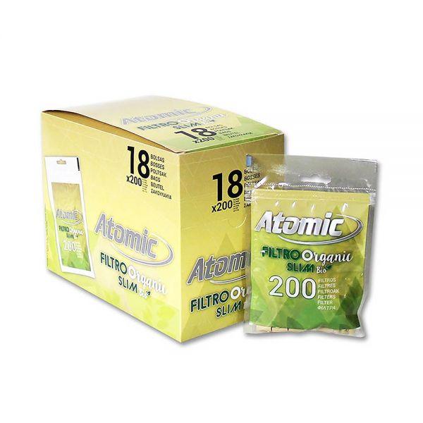 Atomic Filtri ECO Slim 6 MM - 1 Bustina x 200pcs