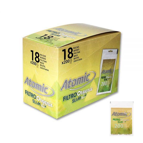 Atomic Filtri ECO Slim 6 MM - Box 18 Bustine da 200pcs