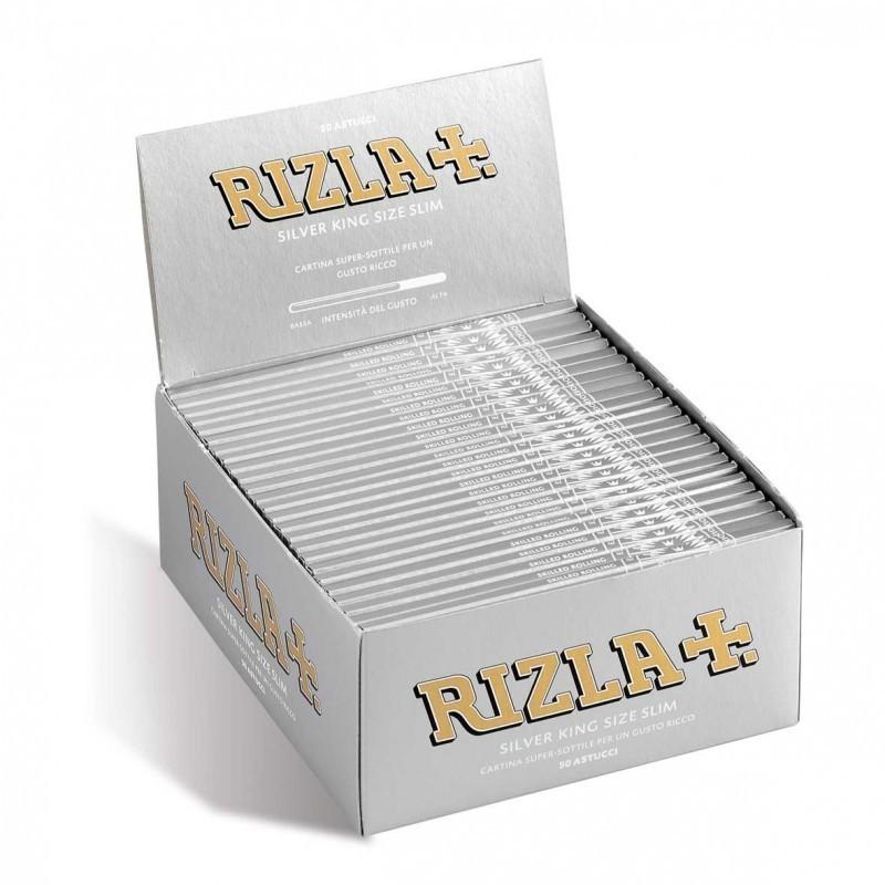 Cartine SMOKING NERE DE LUXE black LUNGHE 10 pz King Size kingsize