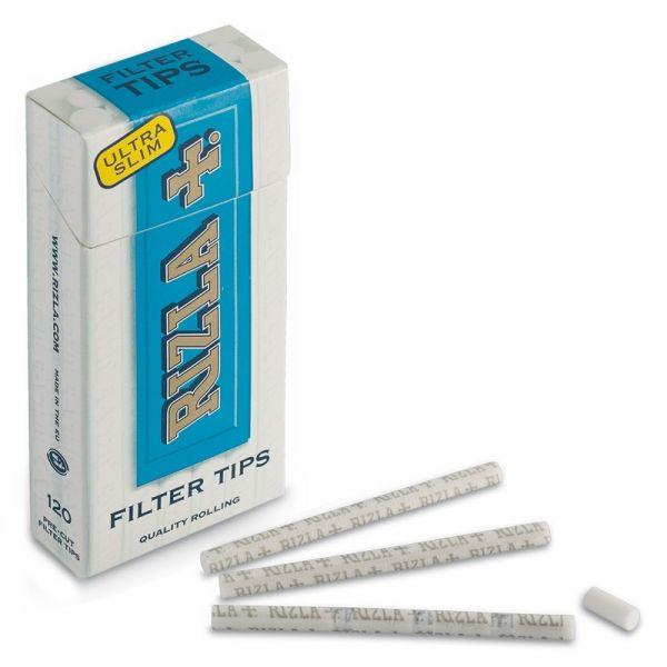 3000 Filtri RIZLA Regular 8 mm 8mm 30 scatole da 100•