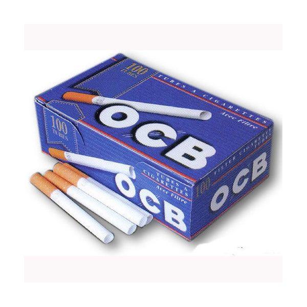 OCB TUBETTI CON FILTRO - BOX DA 100 SIGARETTE VUOTE