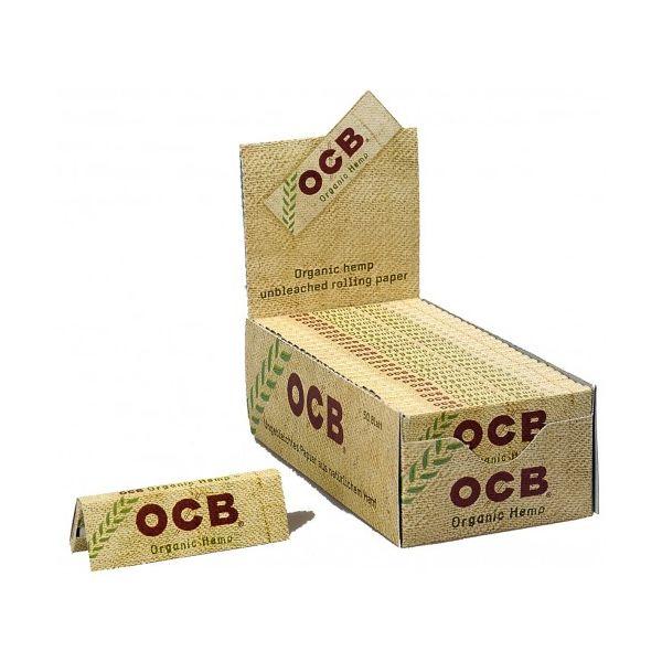 CARTINE OCB ORGANIC HEMP CORTE CANAPA BIOLOGICA BOX DA 50 LIBRETTI