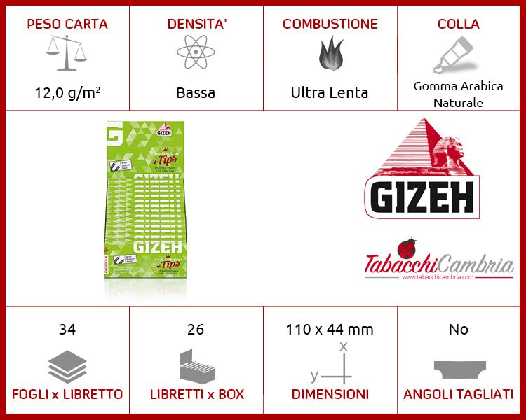 GIZEH SUPER FINE KS SLIM + TIPS 26